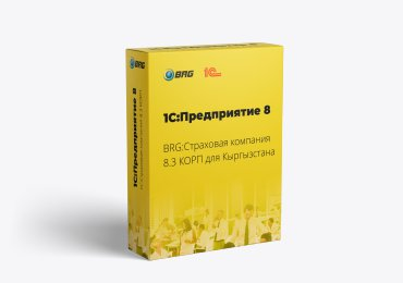 BRG:Страховая компания 8.3 КОРП для Кыргызстана
